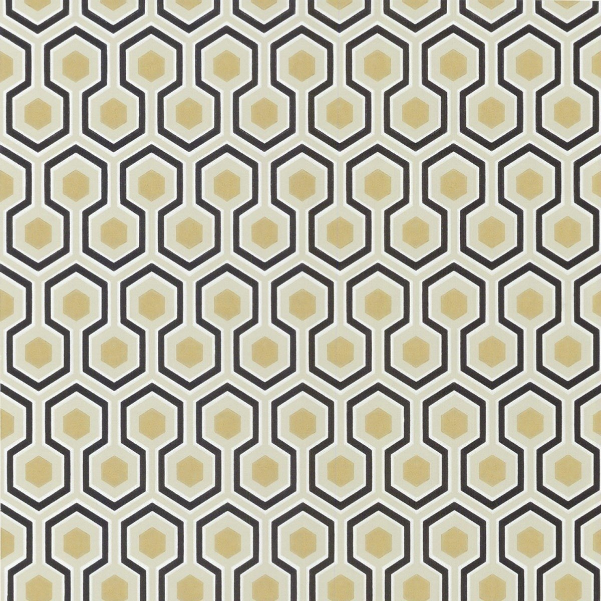 Papier peint hicks 39 hexagon cole and son - Papier peint style annee 70 ...
