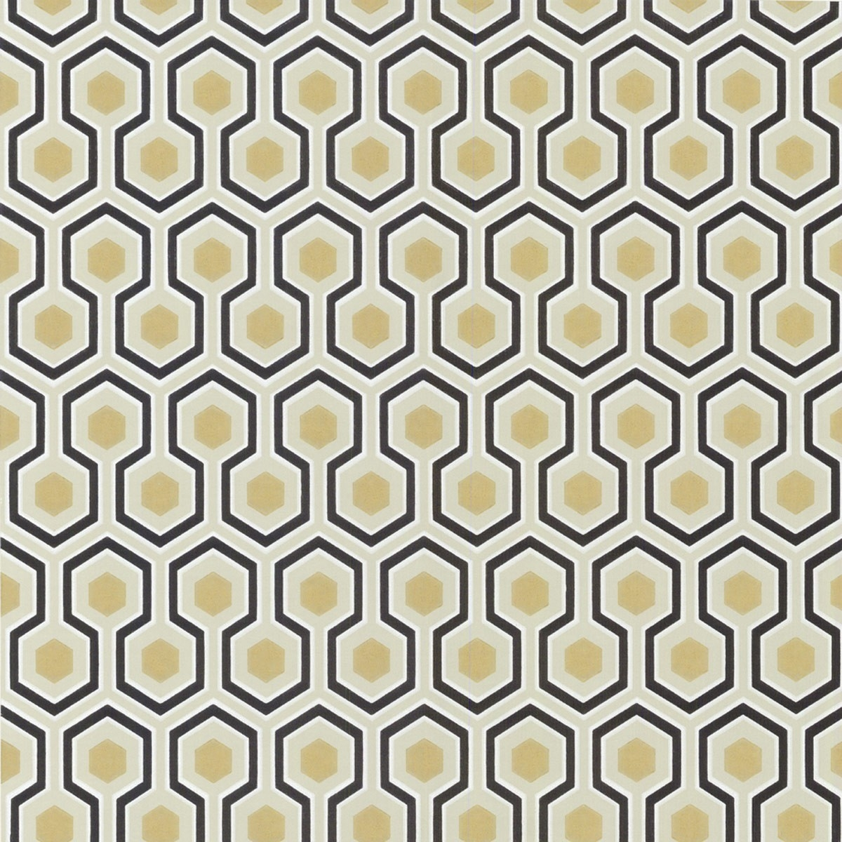 Papier peint hicks 39 hexagon cole and son - Les plus beaux papiers peints ...
