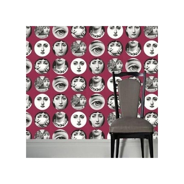 fornasetti papier peint tema e variazioni. Black Bedroom Furniture Sets. Home Design Ideas