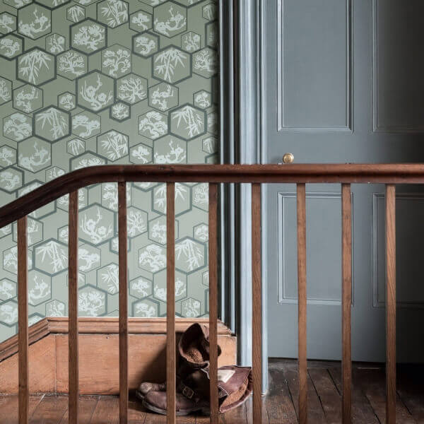 Papier peint shouchikubai farrow and ball for Farrow and ball papier peint