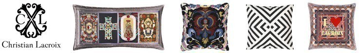 Coussins et tissu ameublement Christian Lacroix