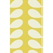 Papier peint Giant Stem Red Orla Kiely