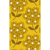 Papier peint Giant Rhodedendron Honeysuckle Orla Kiely