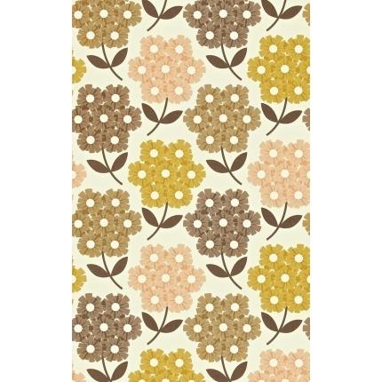 Papier peint Rhodedendron Orla Kiely Tea rose 110414 Orla Kiely