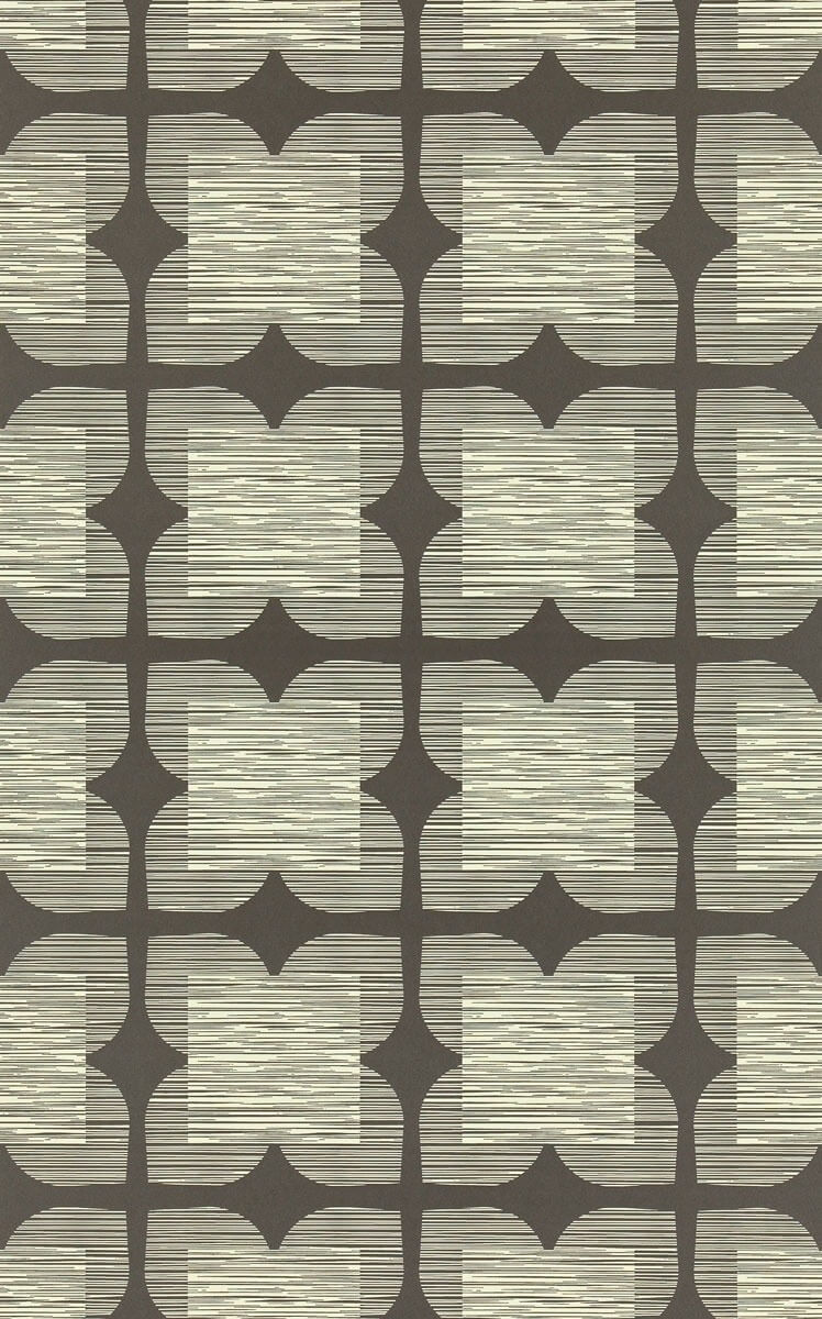 papier peint flower tile orla kiely. Black Bedroom Furniture Sets. Home Design Ideas