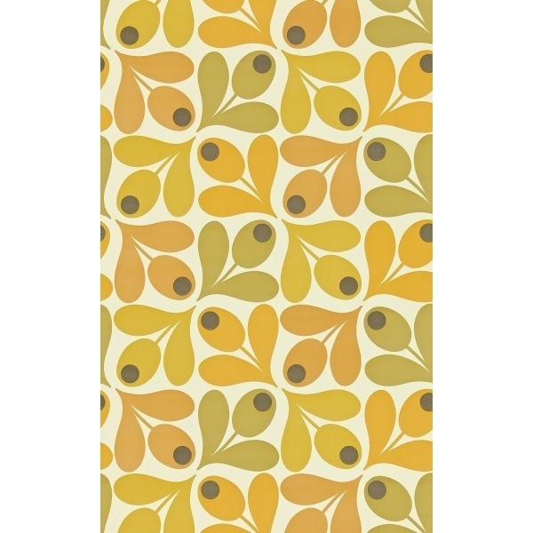 papier peint multi acorn spot orla kiely. Black Bedroom Furniture Sets. Home Design Ideas
