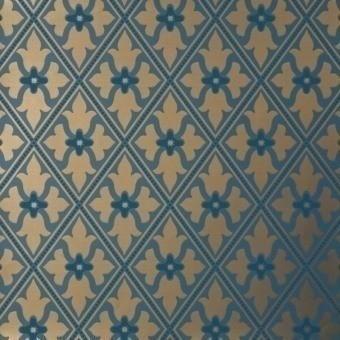 Papier peint Bayham Abbey Celestial Little Greene