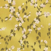 Papier peint Sakura Yellow Lustre Little Greene
