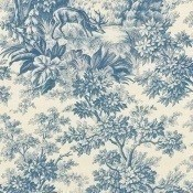 Papier peint Stag Toile Burgundy Little Greene