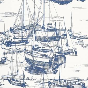Papier peint Zingara Cerulean Sea Little Greene