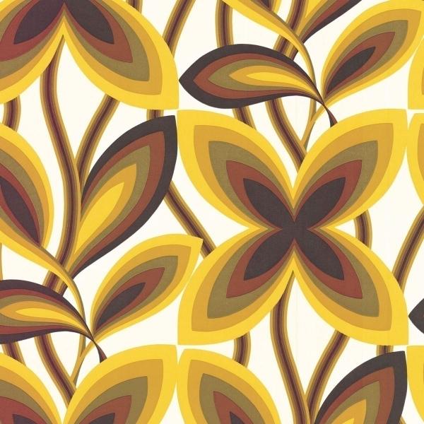 papier peint starflower little greene. Black Bedroom Furniture Sets. Home Design Ideas