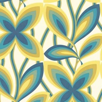 Papier peint Starflower Marigold Little Greene