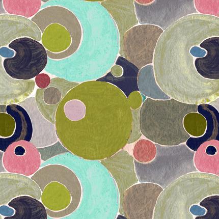 Tissu Cosmos Lalie Design Poudre TI COSMPOU Lalie Design