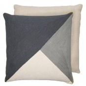 Coussin Albert Slate/Pewter Niki Jones