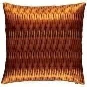 Coussin Tribal Stripes Ocre Carré 40x40 cm Mariska Meijers