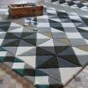 Tapis Mosaiek Hand tufted Grey Gan Rugs