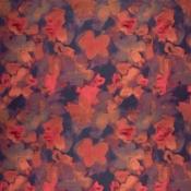 Tissu Magnolia Brume Sahco