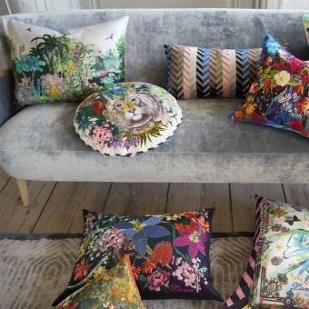 Jungle King Cushion Opiat Christian Lacroix