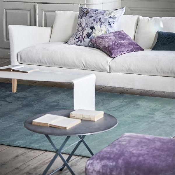 tapis capisoli teal designers guild. Black Bedroom Furniture Sets. Home Design Ideas