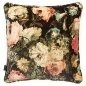 Coussin Midnight Garden Velvet 45x45 cm House of Hackney