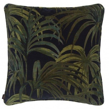 Coussin Palmeral Midnight/Green Midnight/Green House of Hackney