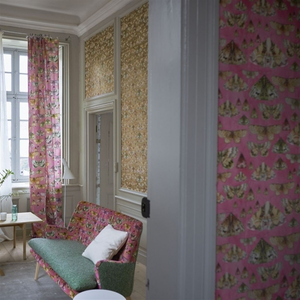 papier peint issoria designers guild. Black Bedroom Furniture Sets. Home Design Ideas