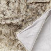 Plaid Cheyenne à poils longs 150x200 cm Nobilis
