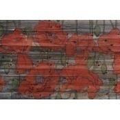 Panneau Red Poppy Coquelicot Texam Home