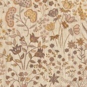 Tissu Shepherdly Flowers Natural Linen Cornfield Liberty