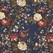 Tissu Lady Kristina Art house blue Liberty