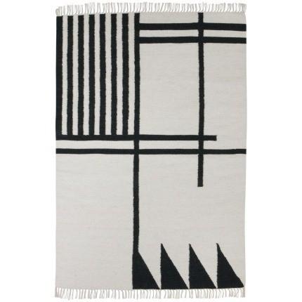 Tapis Black Lines Ferm Living 140x200 cm 9151 Ferm Living
