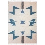 Tapis Blue Triangles 140x200 cm Ferm Living