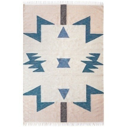 Tapis Blue Triangles Ferm Living 140x200 cm 9153 Ferm Living
