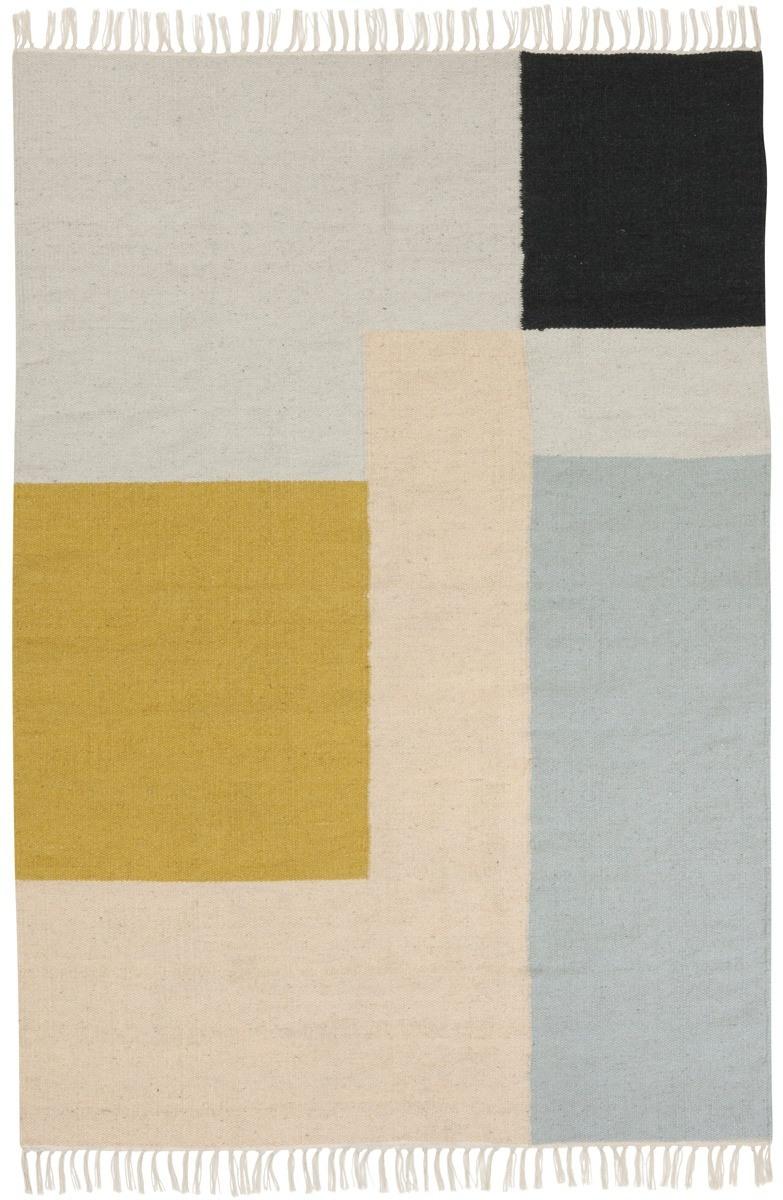 tapis squares ferm living. Black Bedroom Furniture Sets. Home Design Ideas