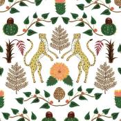 Papier peint Cheetahs Amarillo Coordonné