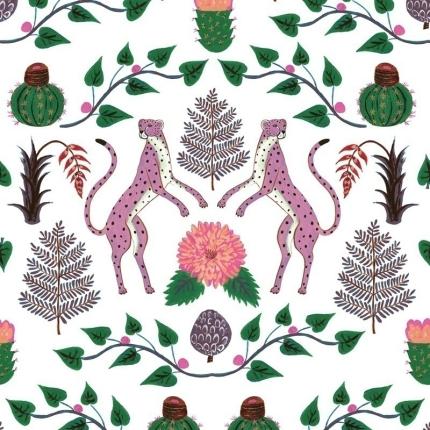 Papier peint Cheetahs Coordonné Rosa 5900045 Coordonné