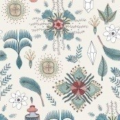 Papier peint Micro Cosmos Azul Coordonné