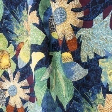 Tissu Tropical Jungle Lelièvre
