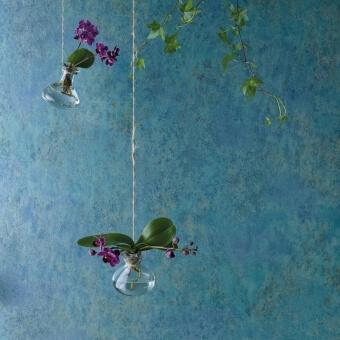 Papier peint Fresco Blue/Mint Osborne and Little