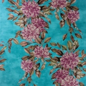 Papier peint Rhodora Plum/Teal Osborne and Little