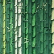 Papier peint Bamboo Emerald Osborne and Little