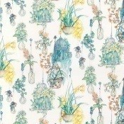 Tissu Hanging Garden Rose/Blue Osborne and Little