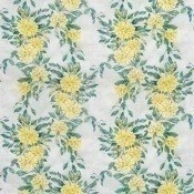 Tissu Rhodora White/Gilver Osborne and Little