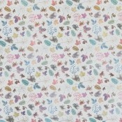 Voile Woodland Sheer Multi/White Osborne and Little
