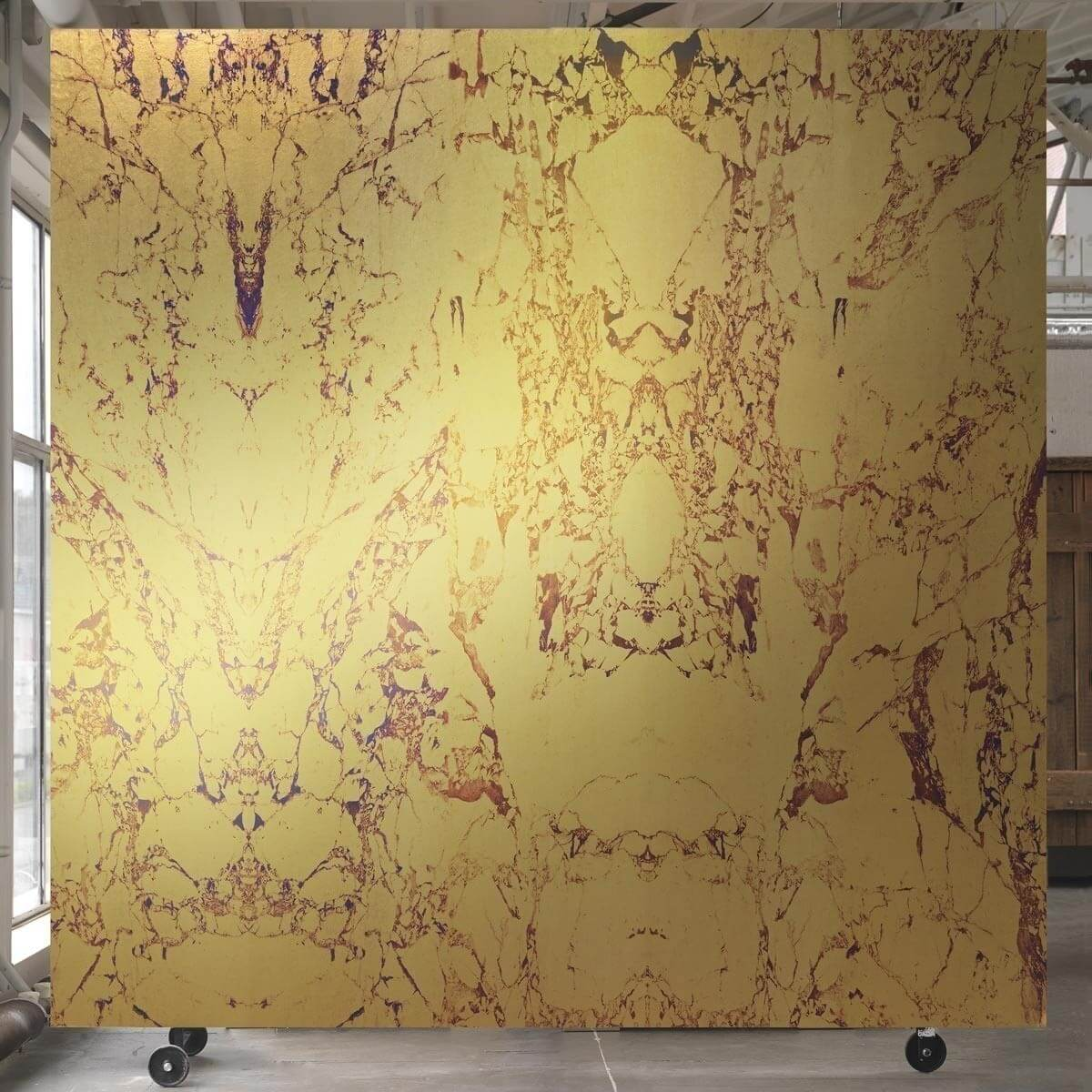 Gold Marble Wall Wall Covering - NLXL by Arte
