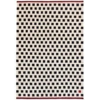 Pattern 3 Rugs Black/White Nanimarquina