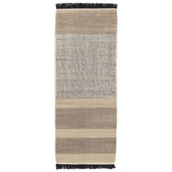 Stripes Black Rugs 170x240 cm Nanimarquina
