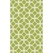 Papier Peint Treillis 2 Vert Nobilis
