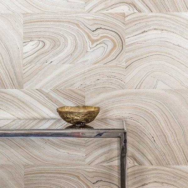 papier peint marbr nobilis. Black Bedroom Furniture Sets. Home Design Ideas