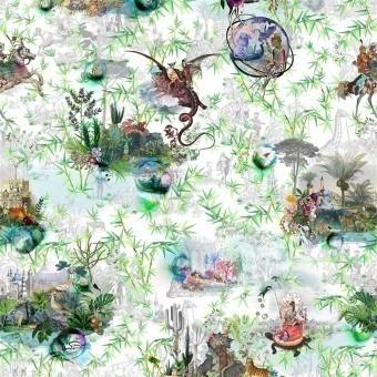 Reveries Fabric Tomette Christian Lacroix